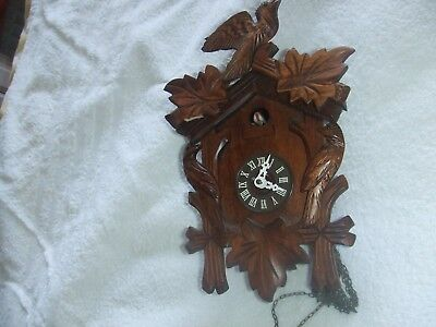 Vintage Blackforest style cuckoo clock - German Spares or Repair