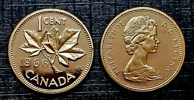 Canada 1966 Small Cent  *Proof Like* Penny!!