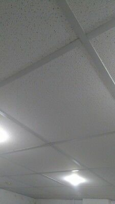 Faulse Ceiling 2 Foot Square Panel tiles Approx 100