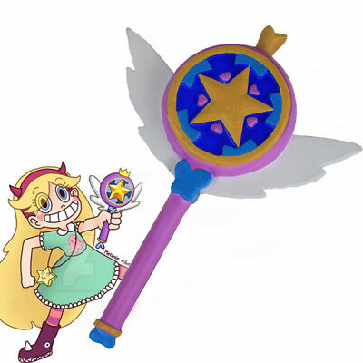 Star vs. the Forces of Evil Princess Magic Stick Wand Staves Cosplay props