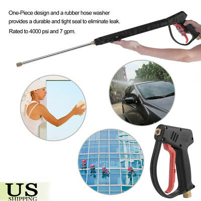 High Pressure Washer Gun Water Jet 4000 PSI 7 gpm for Pressure Power Washers BP