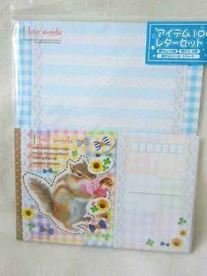 Kyowa  animal  Squirrel  letters set NEW -162