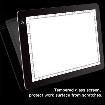 A4 LED Light Drawing Table Pad Copy Board Copy Sketch Tracing Zeichentisch L8R3