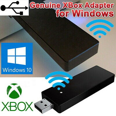 For Wireless Xbox One Controller Adapter Receiver Stick Microsoft Windows PC USB