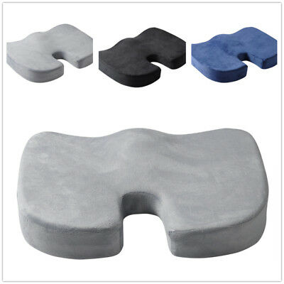 Memory Foam Car Seat Office Chair Cushion Coccyx Orthopedic Pain Relief Pillow U