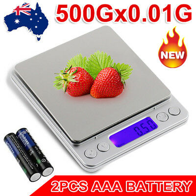 0.01G-500G Mini Electronic Digital Pocket Gold Jewellery Weighing Kitchen Scales