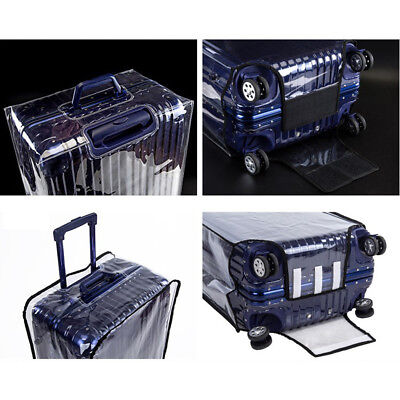PVC Transparent Travel Luggage Protector Suitcase Cover 20'' 24'' 26''30'' K8
