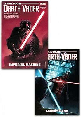 Star Wars Darth Vader Dark Lord Of The Sith Collection 2 Books Set Legacy End