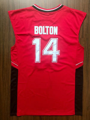 d9c2fb5ac Zac Efron  14 Troy Bolton East High School Wildcats Basketball Jersey  Stitched