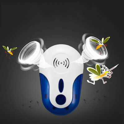 Ultrasonic Pest Repeller Electronic Insect Repellent Control Device EU US UK