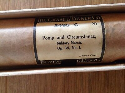 Pomp and Circumstance - Elgar - Pianola roll