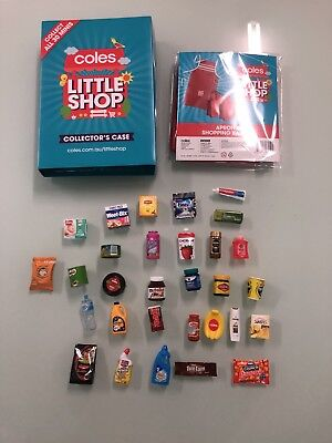 YOU CHOOSE *FREE EXPRESS SHIP* Coles Little Shop Collectable Minis and Aprons