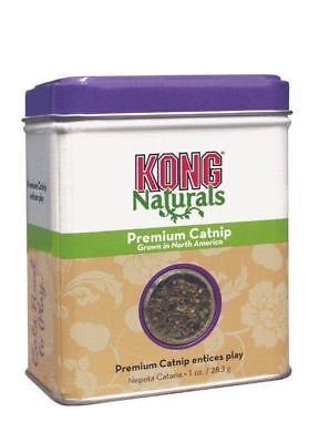 KONG Cat Premium Catnip 1oz High Potency For Cats