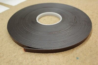 Magnetic Tape - Self Adhesive Backing - 1m Long - 13mm Wide - Magnetise Anything