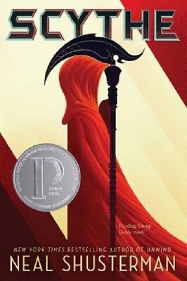 Scythe Book by Neal Shusterman Arc of a Scythe Series Book 1 Paperback NEW
