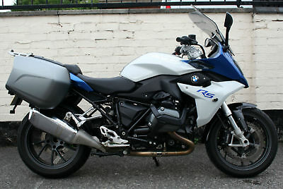 Bmw R 1200 Rs 65 Reg Blue Excellent Condition - Bmw Luggage - Only 8,100 Miles