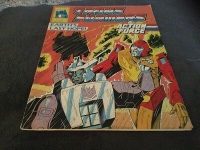 Transformers And Action Force # 204 Comic