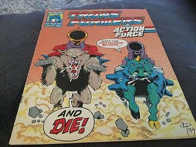 Transformers And Action Force # 211 Comic
