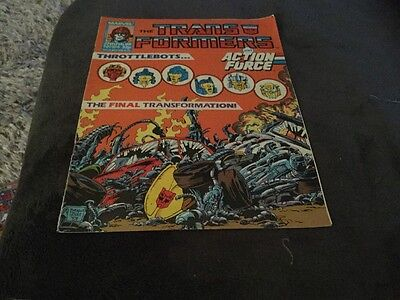 Transformers And Action Force # 154 Free Postage