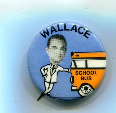 Wallace School Bus Pin