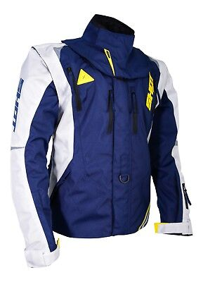 New 2018 Shot Flexor Advance Enduro Jacket White Blue Husqvarna Te Fe Tc Te Fc