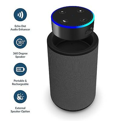 Speaker Dock for Amazon Echo Dot Alexa (1st & 2nd Generation) Smart Portable