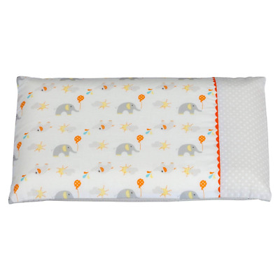ClevaMama Replacement Baby Pillow Case (Elephant)
