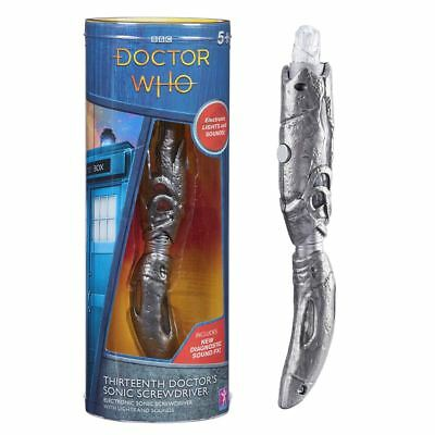 New Doctor Who 13th Dr's Sonic Screwdriver Jodie Whittaker Lights & SFX Official