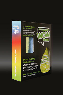 WOW shine HouseProud 500ml Spray Waterless Cleaner Kit ECO friendly /anti MRSA