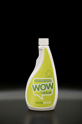 WOW shine HouseProud 500ml Refill Waterless Cleaner ECO friendly /anti MRSA