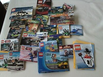 A Bundle Of Small Lego Instruction Books Only No Lego 700