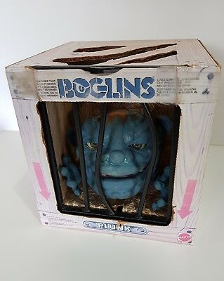 Retro Mattel BOGLINS Plunk Toy in box 1987 - missing small piece
