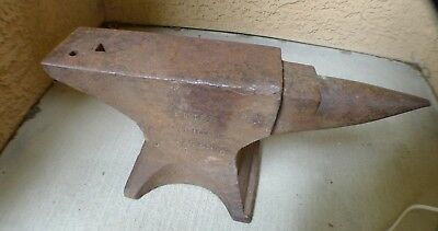 Beautiful 90 Lb. Peter Wright Blacksmith Anvil Knife Forge Smithing Nr