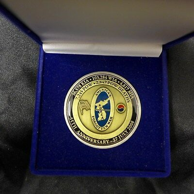 """Military """"challenge Coin"""" Designed By Louis Schindler Cib X 3 Honoring Dutch Nel"""