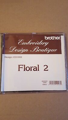 Brother Embroidery Design Boutique Memory Card Floral 2