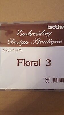 Brother Embroidery Design Boutique Memory Card Floral 3