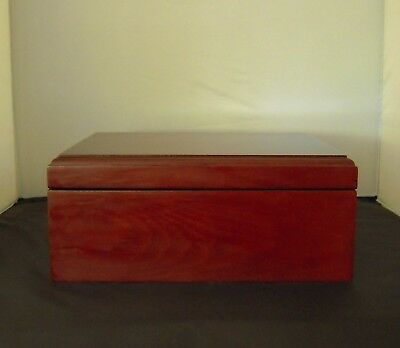 Cherry Finish Cigar Humidor Box