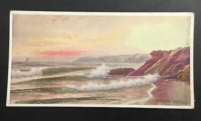 EDWARD GAY THE BREAKERS LANDSCAPE Calendar MARCH 1924 ART VINTAGE RARE VTG AD