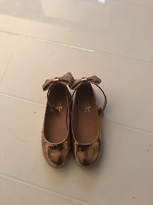 ted baker gold shoes size 11