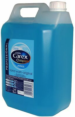 5 Litre  Carex Professional Original Anti Bacterial Liquid Hand Soap Wash Multi