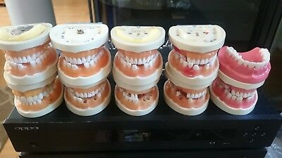 Kilgore dental study models, teeth, tools