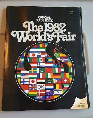 The 1982 World's Fair - Official Guide Book with Map