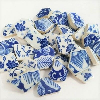 Blue and White Mixed China 200 grams