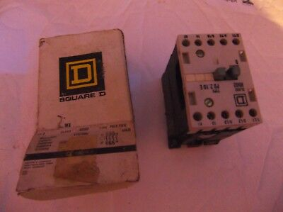 Square D 8502 PD2.10E Motor Starter Contactor 690 V 20 A 5 HP Max