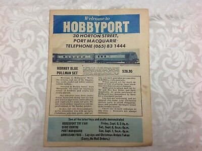 Welcome To Hobbyport Port Macquarie Vintage Catalogue