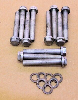 used OEM Yamaha TZ Head Bolts, silver color 700, 750 250, 350
