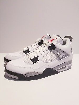 5e08a4437f7f31 ... promo code for ds nike air jordan og retro white cement 4 black size 13  iv