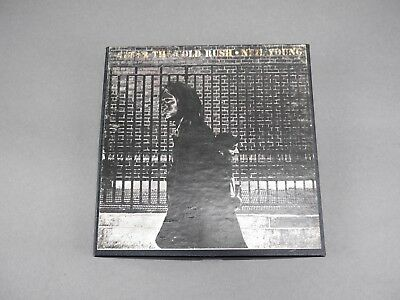 """Vintage 4 Track 3 3/4"""" Neil Young After The Gold Rush Reel To Reel Tape See More"""