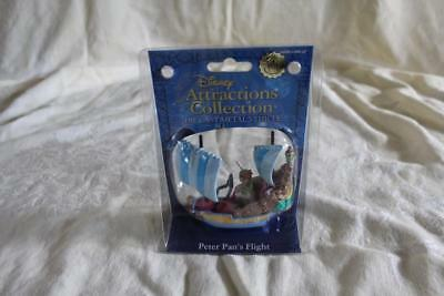 Disneys Attractions Collection Die Cast Metal Vehicle Peter Pan's Flight New NIB