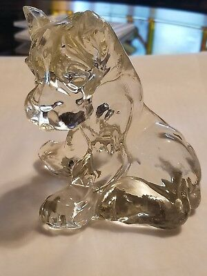 Haley American Glass Boxer Dog Rare Hard To Find